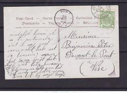 N° 56  / Carte De L AMBULANT Anvers   Bruxelles 2 - 1893-1907 Stemmi