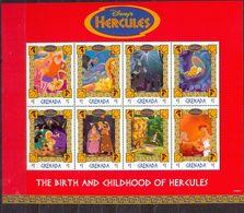 GRENADA - MNH - WALT DISNEY - CARTOONS - HERCULES - MI.NO.KLB 3685/92 - CV = 7,5 € - Grenada (1974-...)