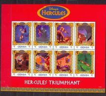 GRENADA - MNH - WALT DISNEY - CARTOONS - HERCULES - MI.NO.KLB 3693/0 - CV = 7,5 € - Grenada (1974-...)