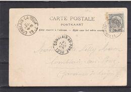 N° 53  / Carte De L AMBULANT NAMUR LUTTRE BRUXELLES - 1893-1907 Stemmi