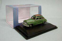Oxford - DESOTO SUBURBAN 1946-48 Vert Voiture US Neuf HO 1/87 - Strassenfahrzeuge