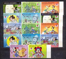 GRENADA - MNH - WALT DISNEY - CARTOONS - MI.NO.1918/31 - CV = 15 € - Grenada (1974-...)