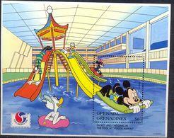 GRENADA - MNH - WALT DISNEY - CARTOONS - MICKEY MAUS - MI.NO.BL 312 - CV = 6 € - Disney