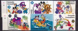 GRENADA - MNH - WALT DISNEY - CARTOONS - MICKEY MAUS - MI.NO.2120/5 - CV = 9,5 € - Disney
