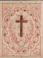 Image Pieuse Bois Et Sable Collé - Memento Jérusalem - PP Franciscanorum T.S., Fin XIXème - Religione & Esoterismo