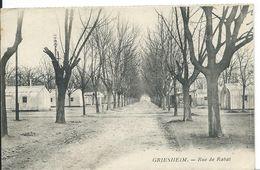 GRIESHEIM     (BAS-RHIN )   RUE DE RABAT - France