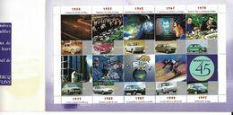45 Ans D'innovations Renault Flins 1952-1997 4cv Dauphine R8 R16 R5 R12 R18 Supercinq Clio Twingo - Automobili
