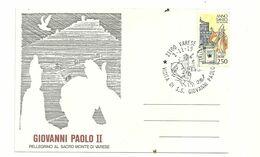 GIOVANNI  PAOLO   II 1984  SACRO  MONTE  ANNULLO - Varese