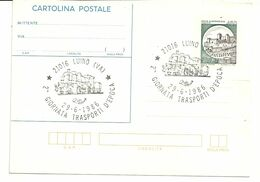 LUINO  TRASPORTI  D'EPOCA 1986   ANNULLO - Varese