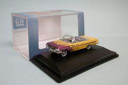 Oxford - CHEVROLET IMPALA Convertible 1961 Custom Hot-rod Jaune Voiture US Neuf HO 1/87 - Strassenfahrzeuge