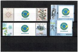 Moldova 2013 . Personal Stamps. 4v X 1.75 L - Moldavia