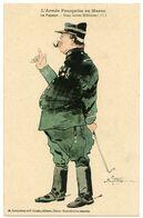 Campagne Du Maroc.illustrateur R Tugot 1912. Officier Payeur Ou Lieutenant De Détail. éditeurs Karambrun & Cousin.Rabat - Militari