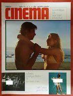 RIVISTA MAGAZINE VINTAGE NEW CINEMA N° 7 DEL 7/71 ITALIAN MAGAZINE PERFECT EROTIQUE EROTIC MAGAZINE FOR ADULTS - Cine