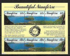 NIUAFO'OU 1990 PAYSAGES  YVERT N°B9  NEUF MNH** - Tonga (1970-...)