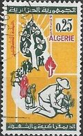 ALGERIA 1964 Reafforestation Campaign - 25c Planting Trees FU - Algérie (1962-...)