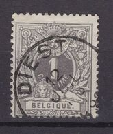 N° 43 DIEST - 1869-1888 Lying Lion