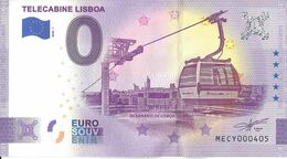 BS-55 - PORTUGAL - Télécabine Lisboa - 2020-1 - EURO