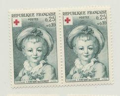 L'enfant En Pierrot - 0,25 + 0,10 - Croix Rouge - Variété De Couleur - Curiosità: 1950-59  Nuovi