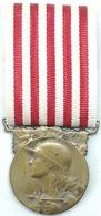 Medalla Gran Guerra. 1914-1918. I Guerra Mundial. República Francesa. Excombatientes. ORIGINAL - 1914-18