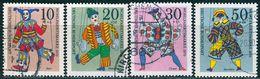 BRD - Michel 650 / 653 - OO Gestempelt (E) - Marionetten, Wohlfahrt 70 - BRD