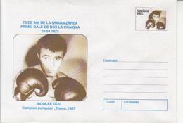 89476- NICOLAE GAJU, BOXING, SPORTS, COVER STATIONERY, 1998, ROMANIA - Boxen