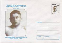 89478-ILIE MIHAILEANU, BOXING, SPORTS, COVER STATIONERY, 1998, ROMANIA - Pugilato