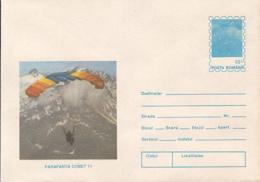 89501- COMET 11 SKYGLIDER, PARACHUTTING, SPORTS, COVER STATIONERY, 1994, ROMANIA - Fallschirmspringen