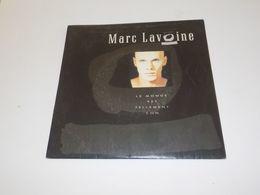45 TOURS  MARC LAVOINE LE MONDE EST TELLEMENT CON 1987 - Other - French Music