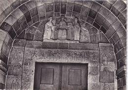 67, Andlau, Eglise Romane, Portail - France