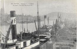 ROUEN : PERSPECTIVE DES QUAIS - Rouen
