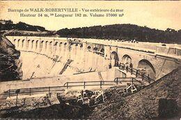 Barrage De Walk-Robertville - Vue Extérieure Du Mur (animée) - Waimes - Weismes