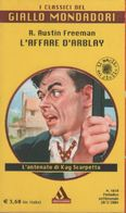 L'affare D'Arblay - R. Austin Freeman - Libri, Riviste, Fumetti
