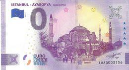 2020BS-57 - TURQUIE - Istanbul (ayasofya) 2020-1 - EURO