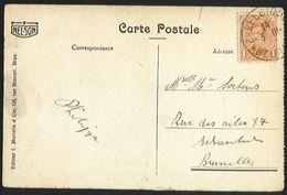 Belgique - Obl.fortune 1919 - N°135 Sur Cartes Postales De Arlon  - Cachet BELGIQUE*2*BELGIE - - Fortuna (1919)