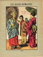 -- CAHIER D'ECOLIER ILLUSTRE / LES RACES HUMAINES / JAPON  / Femme Portant Son Enfant - Dames Japonaises -- - Copertine Di Libri