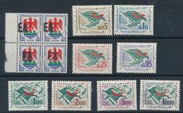 DP-460: ALGERIE: Lot Avec N°1184** Surchargé EA (bloc De 4)-369/376**/* (376*) - Algérie (1962-...)