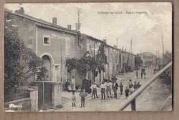 CPA 54 - BLENOD-les-TOUL - BLENOD Les TOUL - Rue Du Faubourg - TB PLAN ANIMATION CENTRE VILLAGE - Autres Communes