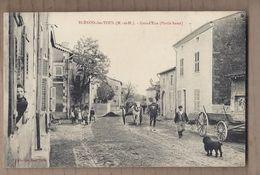 CPA 54 - BLENOD-les-TOUL - BLENOD Les TOUL - Grand'Rue ( Partie Basse) - TB PLAN ANIMATION CENTRE VILLAGE - Autres Communes