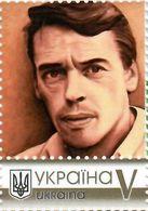 Ukraine 2020, World Literature, Poet Jacques Brel, 1v - Ucrania