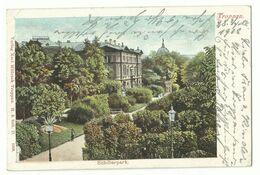 Troppau Opava Schillerpark 1902 - Sudeten