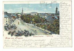 Troppau Opava Beethovenplatz Schulring 1900 - Sudeten