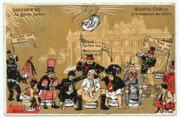 Monaco A été, à La Charnière Des XIXe Et XXe Siècles, Un Centre De Diffusion Du Pacifisme Grâce à Albert Ier. - Satirische