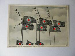 Reichsparteitag--Flugzeugstaffeln über Der Zeppelinwiese - Weltkrieg 1939-45