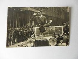 Der Führer Im Auto - Weltkrieg 1939-45