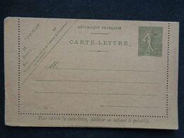 CARTE LETTRE AVEC ENTIER POSTAL Y&T N° 130 AVEC N° 814 - Postal Stamped Stationery