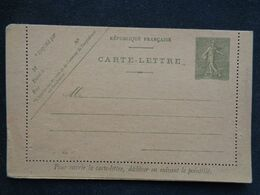 CARTE LETTRE AVEC ENTIER POSTAL Y&T N° 130 AVEC N° 814 - Kartenbriefe