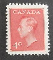 "CANADA YT 234 NEUF* MH ""GEORGE VI"" ANNÉE 1950 - 1937-1952 Règne De George VI"