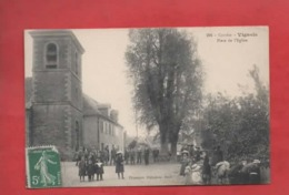CPA -  Corrèze  -  Vignols  - Place De L'église - Francia