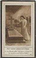 DP. FRANS WALLEMANS ° ALSEMBERG 1900- + 1922 - Religione & Esoterismo