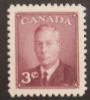 "CANADA YT 233 NEUF* MH ""GEORGE VI"" ANNÉE 1950 - 1937-1952 Règne De George VI"